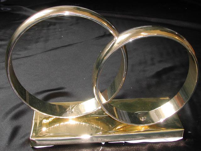 Как сделать кольца на машину на свадьбу своими